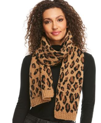 Fab Furs Leopard Scarf