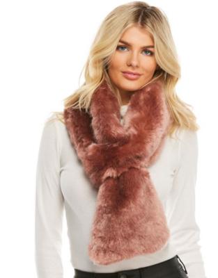 Fab Fur Loop Scarf Rose Quartz