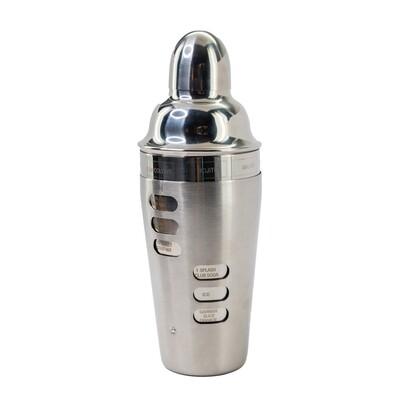 Stainless Steel Recipe Shaker
