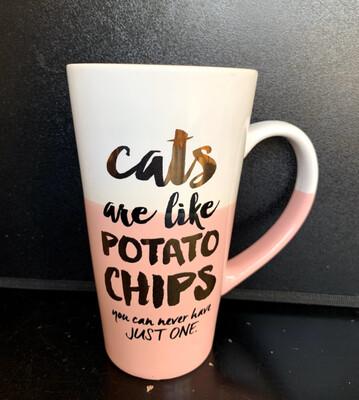 Coffee Mug-Cats Are Like Potato Chips