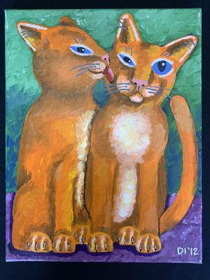Original Painting By Diane Dyal