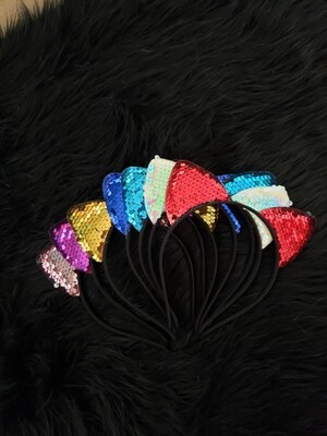 Cat Ears- Sequins
