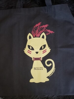 Nole Kitty Tote Bag