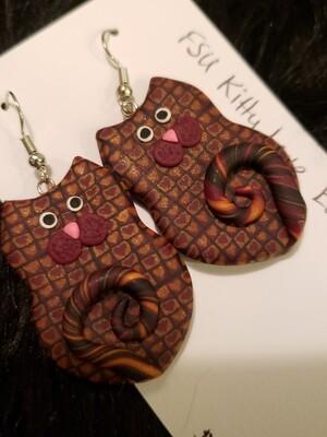 FSU Kitty Earrings