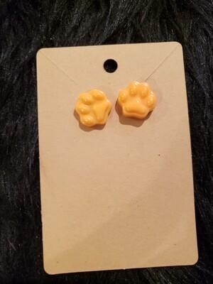 Paw Print Earrings - Kitschy Wearable Art