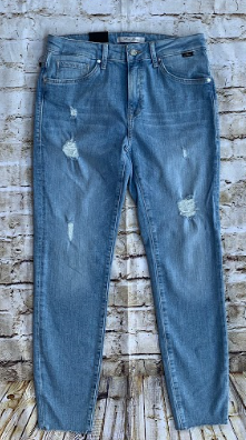 Mavi tess lt ripped vintage jeans