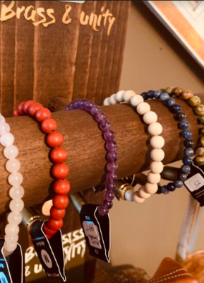 Brass & Unity bracelets