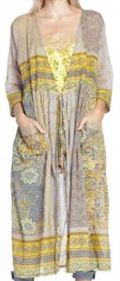 Aratta kimono duster grey