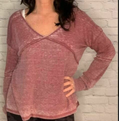 Angie light weight terry oversized shirt