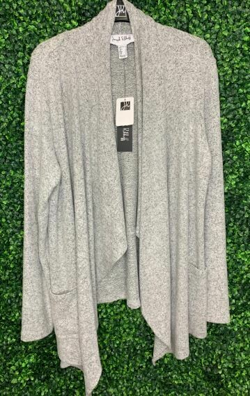 Joseph Ribkoff grey card sweater