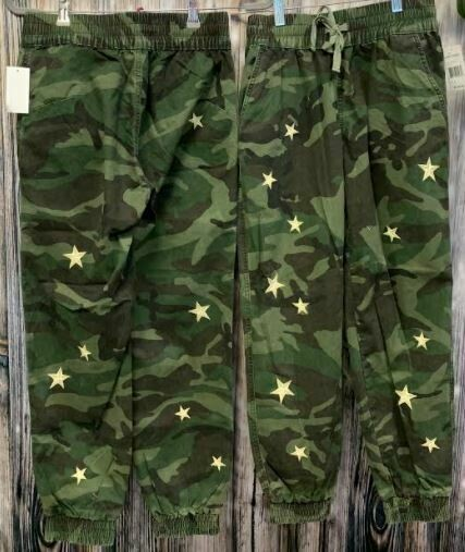 Driftwood star camo joggers