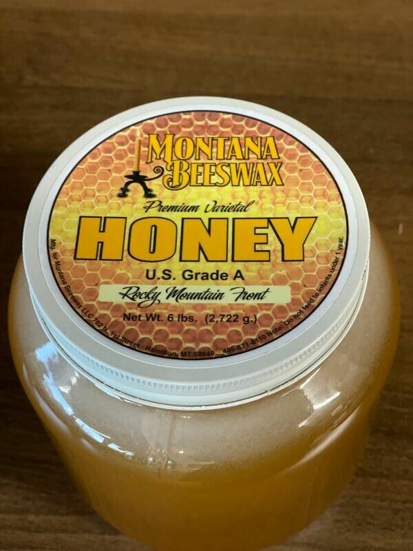 Rocky Mountain Front Honey