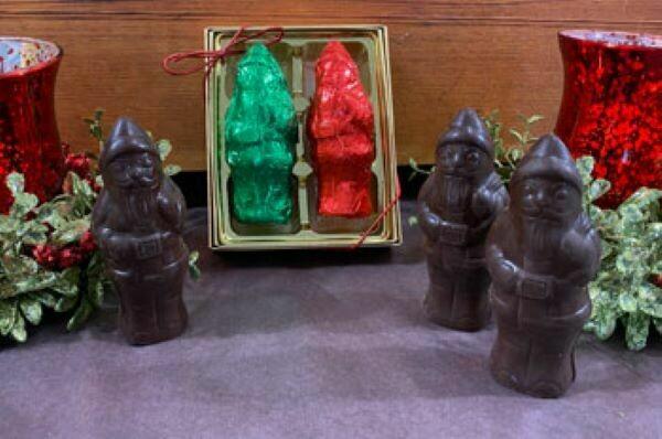 Chocolate Marshmallow Santa