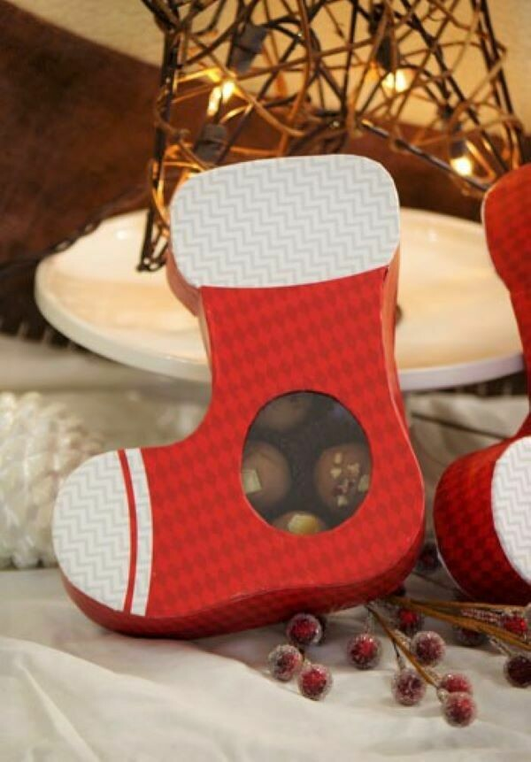 Christmas Stocking Chocolate Truffles