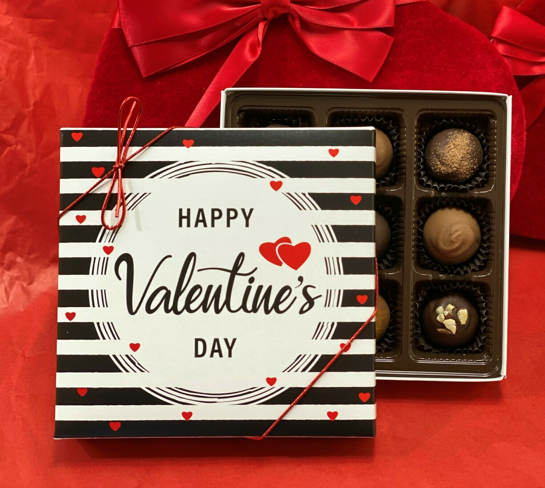 Happy Valentine's Day Truffle Box