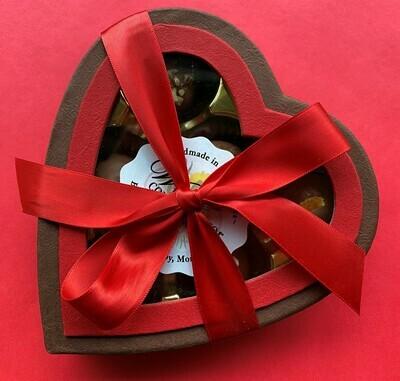 Window Heart Box (6 Piece)