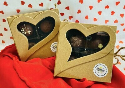 Open Book Heart Box (4pc)