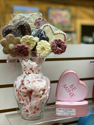 Hearts & Flowers Chocolate Bouquet