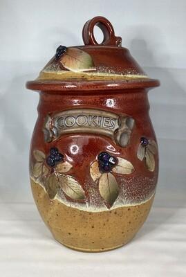 Cookie Jar (Red Glazed)
