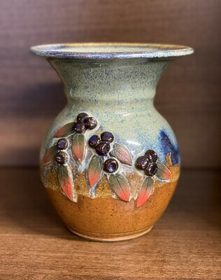 Bowl Vase (Huckleberry)