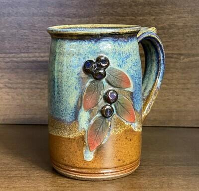 Straight Sided Mug (Huckleberry)
