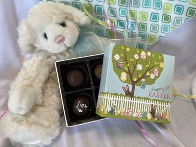 Happy Easter Truffle Box