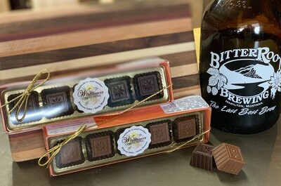 Bitter Root Brewing Stout Beer Chocolate