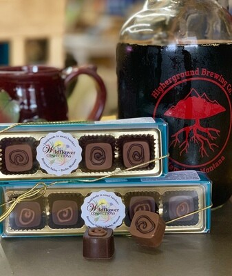 Higherground Brewing Co. Stout Beer Chocolate