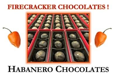 Habanero Firecracker Chocolates