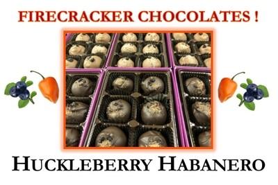 Huckleberry Habanero Firecracker Chocolates