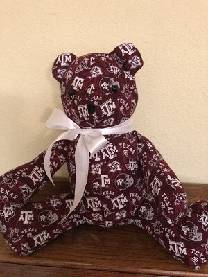 Decorative Fabric Bear