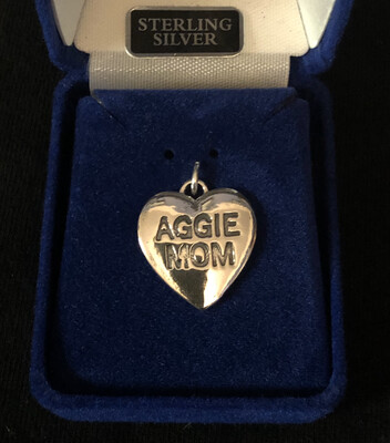 Aggie Mom Solid Heart