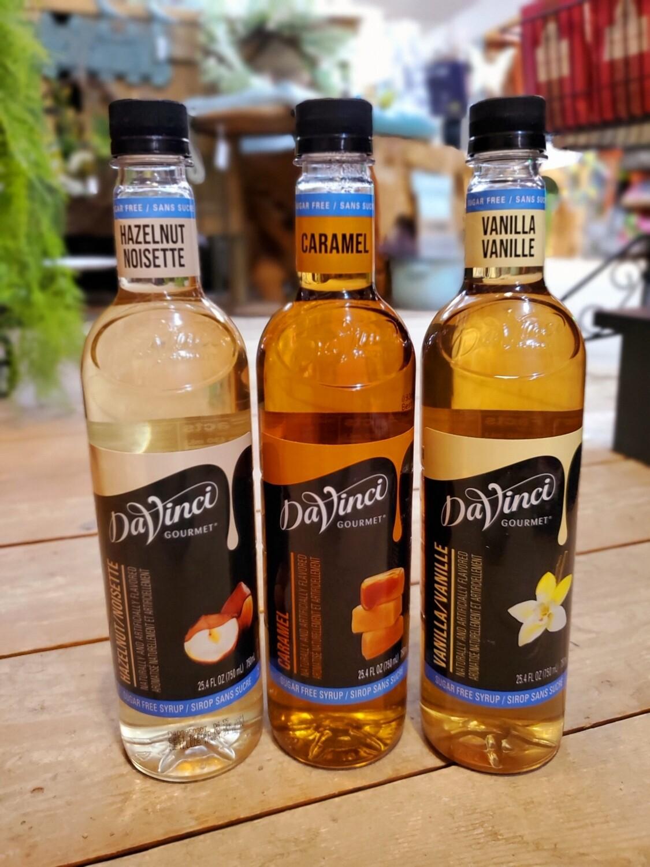 Sugar Free DaVinci Syrups