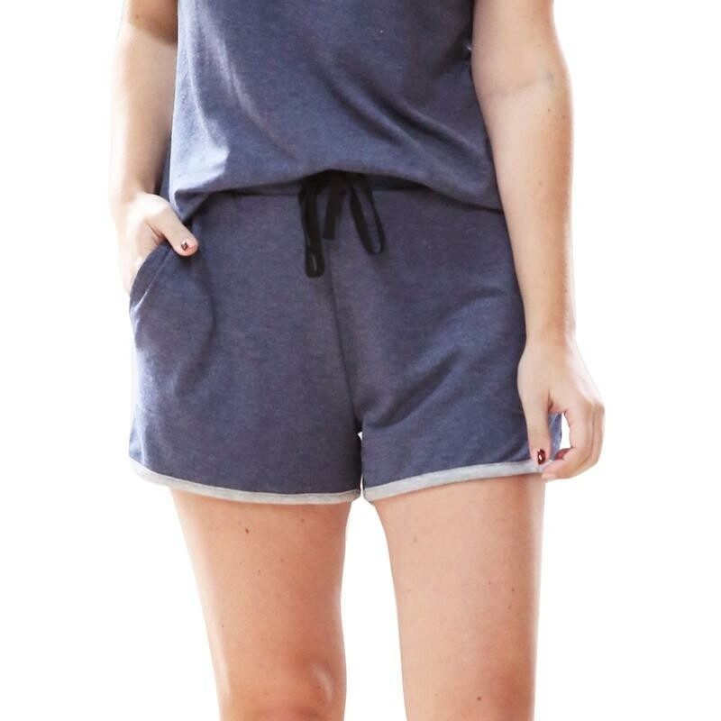 Hello Mello Weekender Shorts   Navy