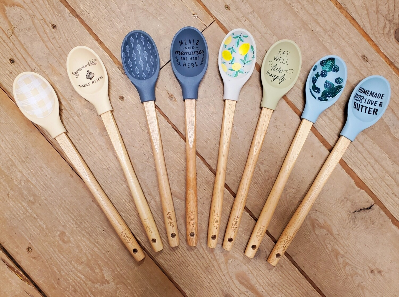 Krumb's Kitchen Silicone Spoon