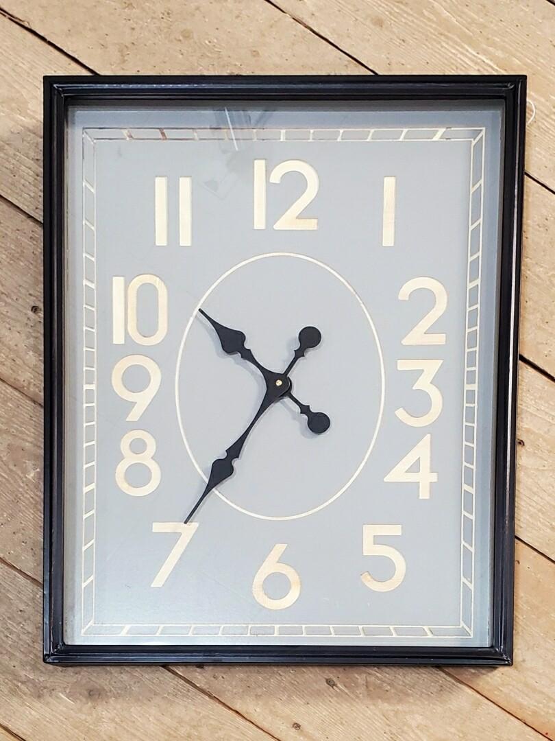 Metal Rectangular Clock