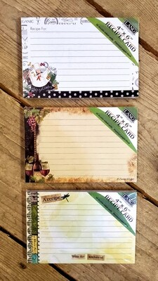 Recipe Card Refill
