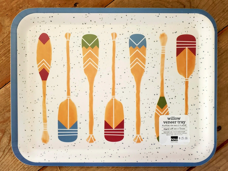 Now Designs Willow Veneer Tray | Lake Life