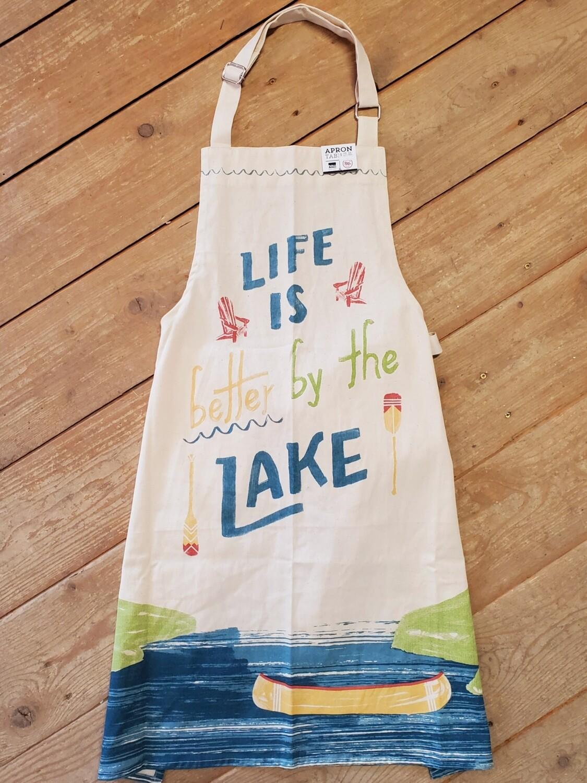 Now Designs Chef Apron - Lake Life