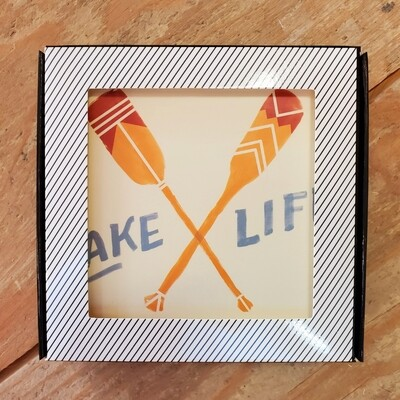 Now Designs Cork Backed Coasters | Lake Life