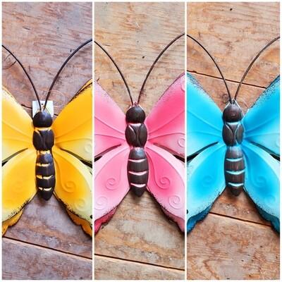 Metal Butterfly Wall/Garden Art