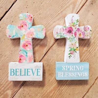 Spring Cross Shelf Sitter