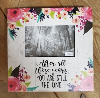 After All These Years Photo Frame