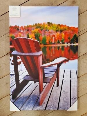 Indoor/Outdoor Lake Canvas