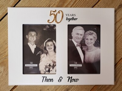 50 Years Together Photo Frame