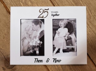 25 Years Together Photo Frame