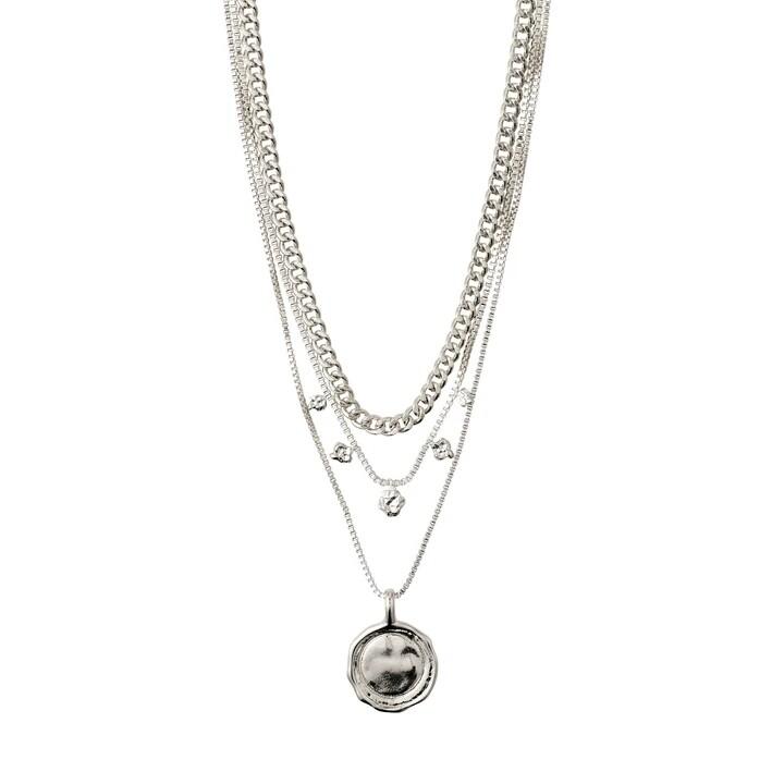 Pilgrim Silver 2-In-1 Necklace Set