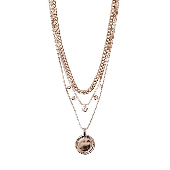 Pilgrim Rose Gold 2-In-1 Necklace Set