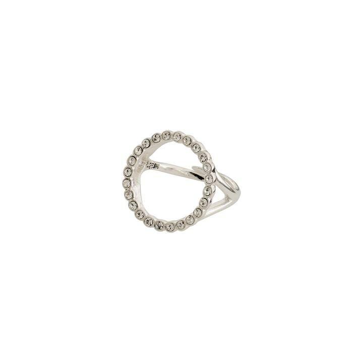 Pilgrim Silver Malin Crystal Ring