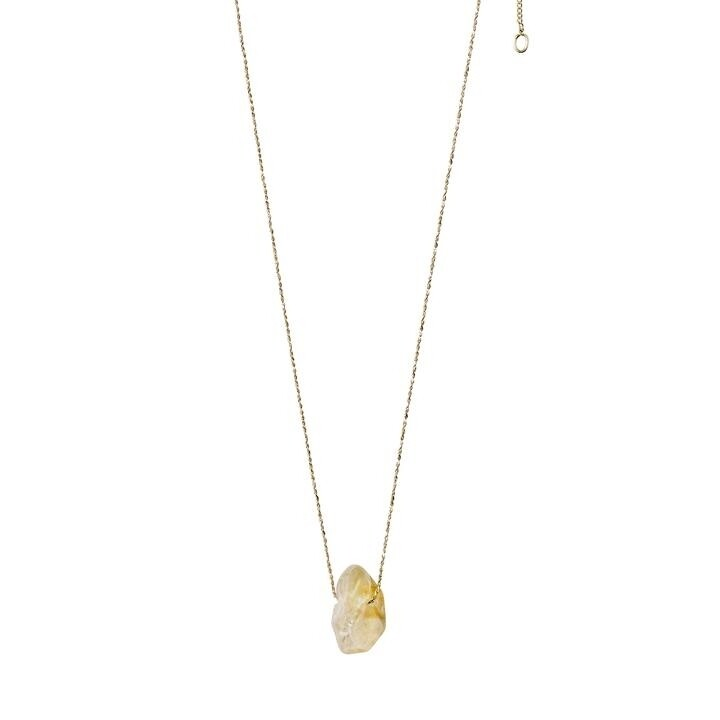 Pilgrim Gold Solar Plexus Chakra Necklace